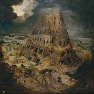 The Tower of Babel, Ca 1595 by Pieter Brueghel the Younger