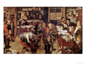 The Village Lawyer, 1621 by Pieter Brueghel the Younger