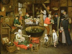 The Visit to the Farm by Pieter Brueghel the Younger