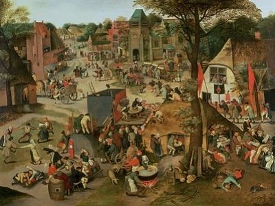 Village Festival in Honour of St. Hubert and St. Anthony, 1632