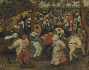 Wedding Dance in the Open Air by Pieter Brueghel the Younger