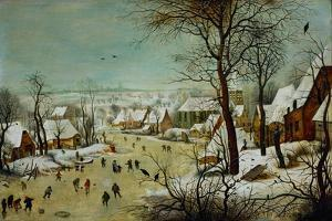 Winterlandscape (1601) by Pieter Brueghel the Younger