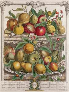 April, from 'Twelve Months of Fruits', by Robert Furber by Pieter Casteels