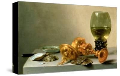 A Still Life with a Roemer and a Gilt Cup