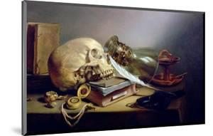 A Vanitas Still Life by Pieter Claesz