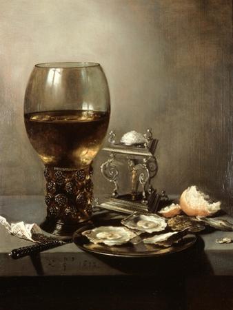 Still Life, 1643 by Pieter Claesz