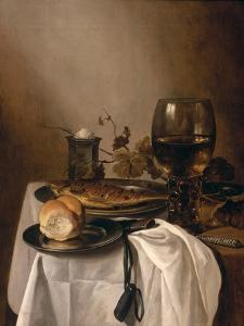 Still Life with a Roemer, 1644 by Pieter Claesz