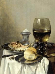 Still Life with a Salt by Pieter Claesz