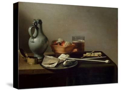 Still Life with Clay Pipes, 1636