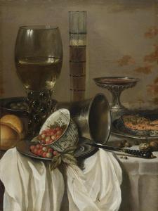 Still Life with Drinking Vessels, 1649 by Pieter Claesz