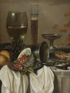 Still Life with Drinking Vessels. 1649 by Pieter Claesz