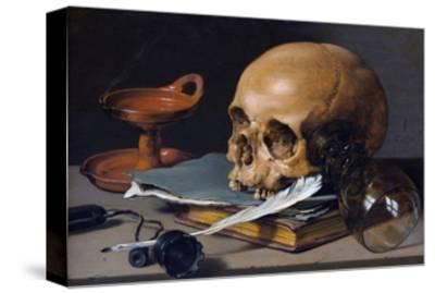 Still Life with Skull and Quill