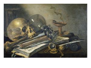 Vanitas Still Life , 1656 by Pieter Claesz