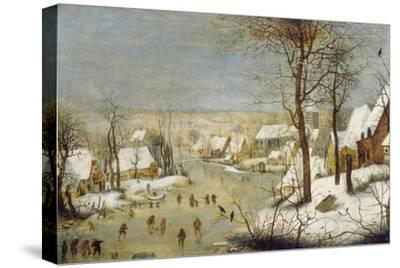 Winter Landscape with Ice-Skaters, after 1565