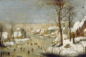 Winter Landscape with Ice-Skaters, after 1565 by Pieter Claesz