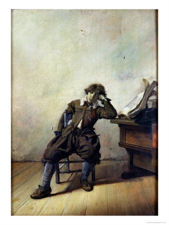 A Young Student in His Study Or, the Smoker, circa 1630-33