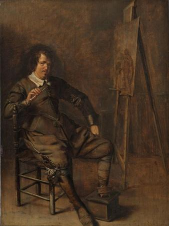 Portrait of a Painter in Front of His Easel, C.1630