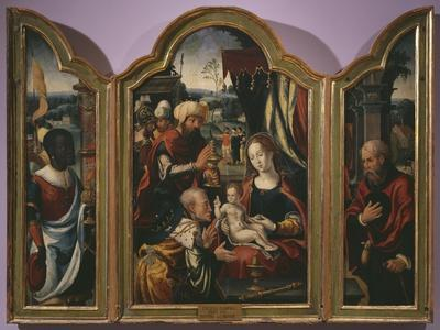 Adoration of the Magi, Epiphany Triptych, C.1540