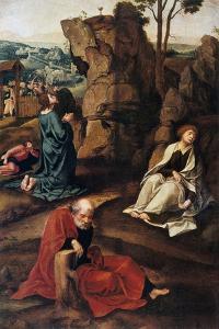 The Agony in the Garden, 1527-1530 by Pieter Coecke van Aelst