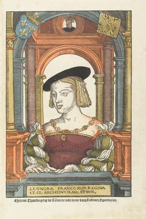 Portrait of Eleanor of Austria, 1539