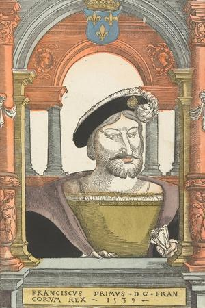 Portrait of Francis I (1494-154), King of France, Duke of Brittany, Count of Provence, 1539