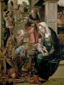 The Adoration of the Magi by Pieter Coecke Van Aelst the Elder
