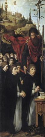 The Apostle Saint James the Great with Preachers (Right Panel of the Last Judgment Triptyc)