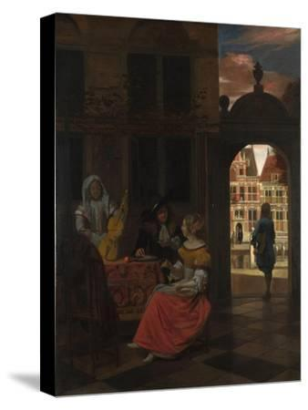 A Musical Party in a Courtyard, 1677