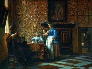 Interior Scene, C1650 by Pieter de Hooch