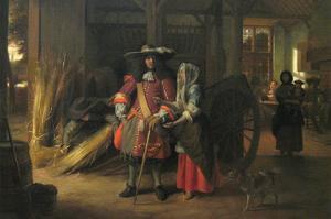 Paying the Hostess by Pieter de Hooch