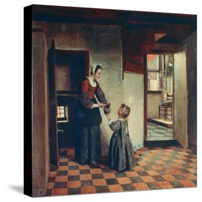 Woman with a Child in a Pantry, C1660