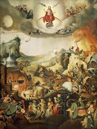 Last Judgment, Circa 1554