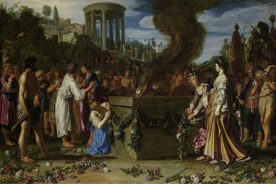 Orestes and Pylades Disputing at the Altar, 1614