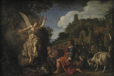 The Angel Raphael Takes Leave of Old Tobit and His Son Tobias, 1618