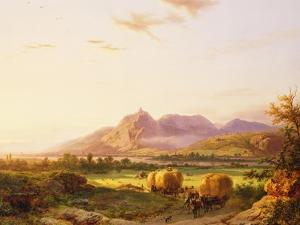Bringing in the Harvest by Pieter Lodewijk Francisco Kluyver