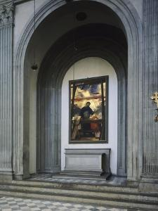 Altarpiece of St Joseph the Worker by Pietro Annigoni