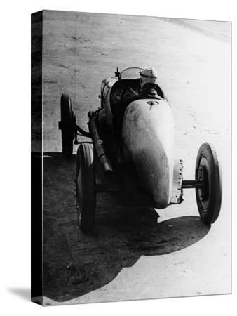 Pietro Bordino Driving Away in a 2 Litre Fiat, 1924