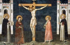 Crucifixion by Pietro Cavallini
