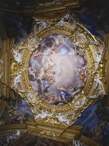 Frescoes from Vault of Hall of Apollo by Pietro da Cortona