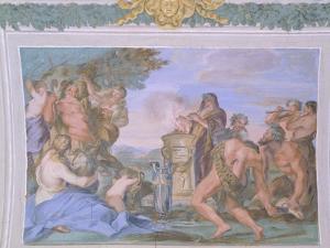 Frescoes of Gallery in Villa Chigi, Rome by Pietro da Cortona