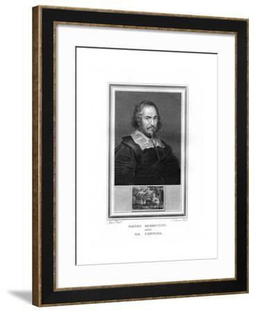 Pietro Da Cortona, Italian Baroque Era Painter-John Corner-Framed Giclee Print