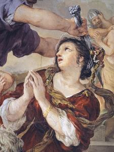 Italy, Florence, Palazzo Pitti, Stove Room in Palatine Gallery, Iron Age by Pietro da Cortona