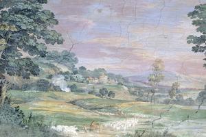 Landscape by Pietro da Cortona