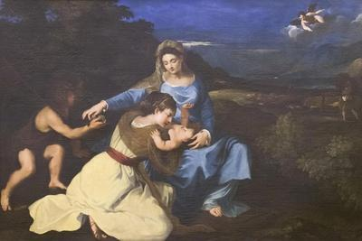 Madonna and Child with Saints, C.1625, after Titian