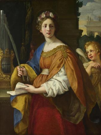 Saint Cecilia, 1620-1625