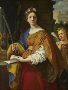 Saint Cecilia, 1620-1625 by Pietro da Cortona