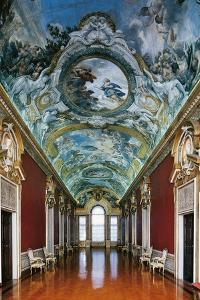 Stories of Aeneas, Fresco Cycle by Pietro da Cortona
