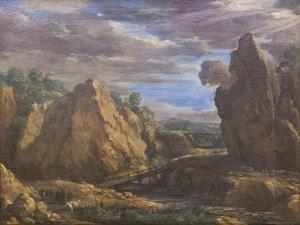 The Alum Mines in Tolfa, C.1630 by Pietro da Cortona
