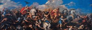 The Battle of Alexander Versus Darius by Pietro Da Cortona