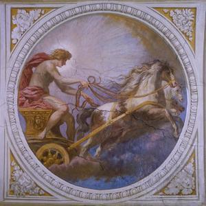 The Chariot of Sun by Pietro da Cortona
